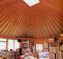 から傘の家(かぼちゃ束の家)