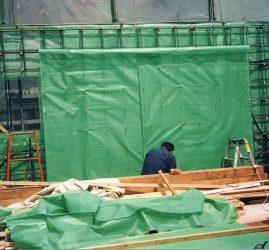 高蓄熱URCハウス1st (fabric formwork 1997)