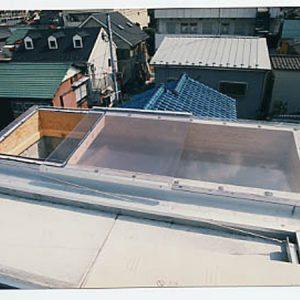 スライド式天窓。