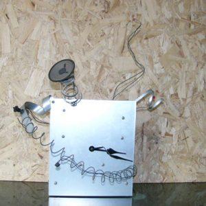多機能時計を分解して、シンプルに組み直した。
